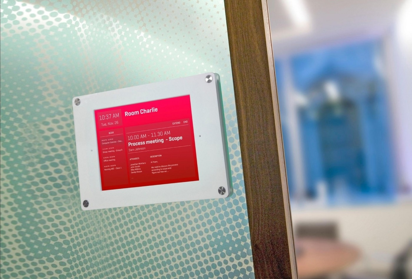 5 Benefits of Meeting Scheduling Digital Signage - ScreenCloud