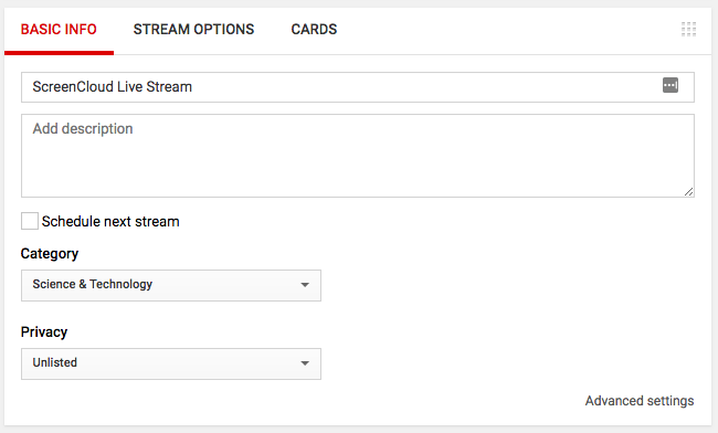 How to Easily Make a YouTube Live Stream - ScreenCloud