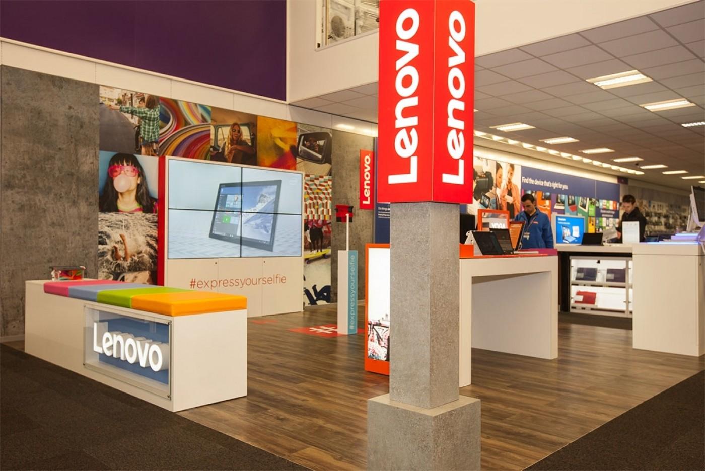 Lenovo at PC World and ScreenCloud