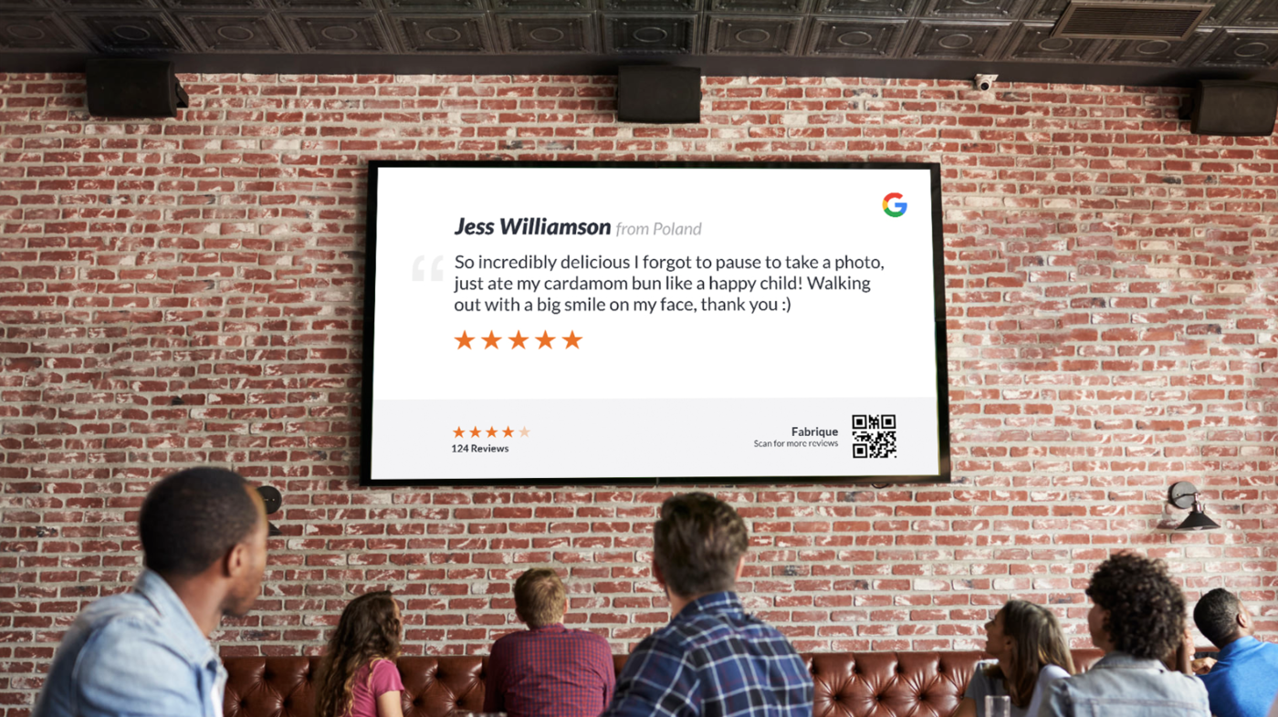 ScreenCloud Google Reviews App Guide