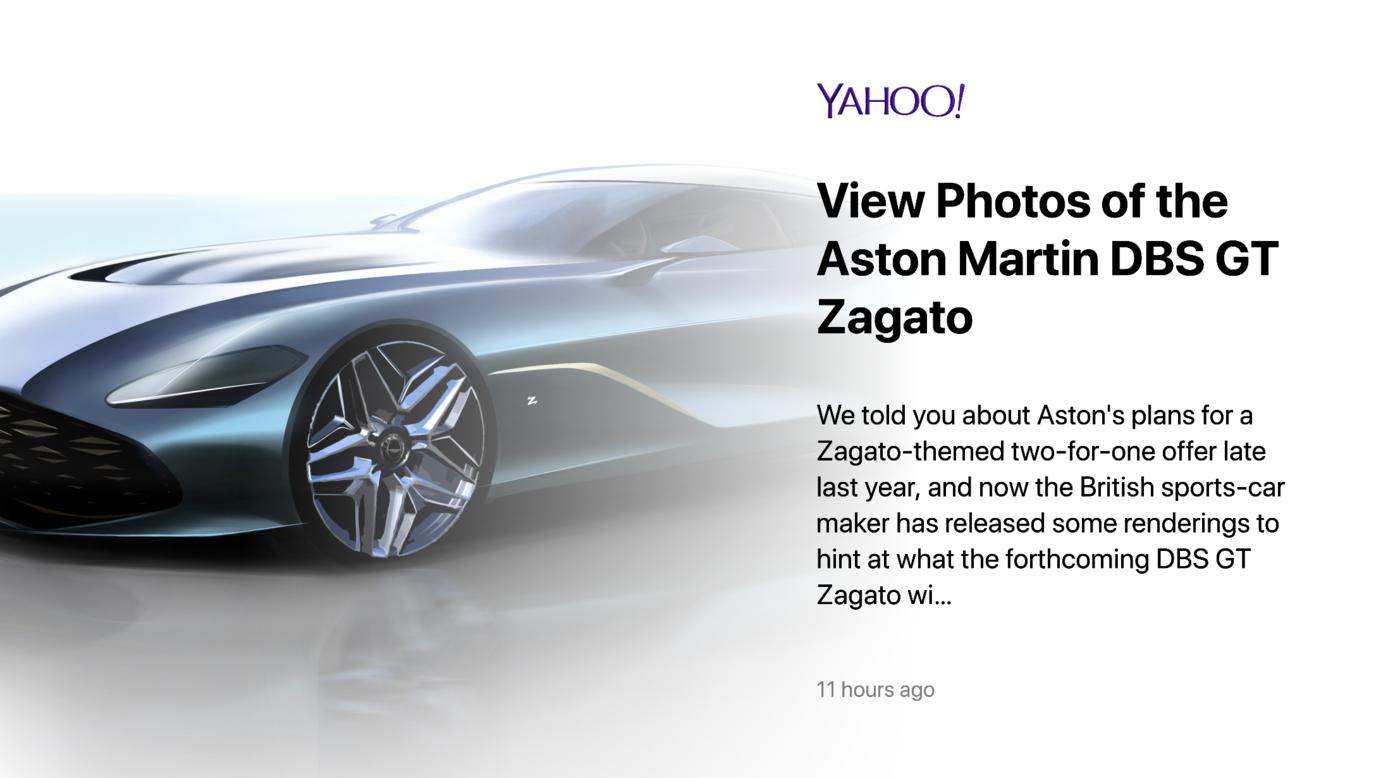 ScreenCloud Yahoo News App Guide