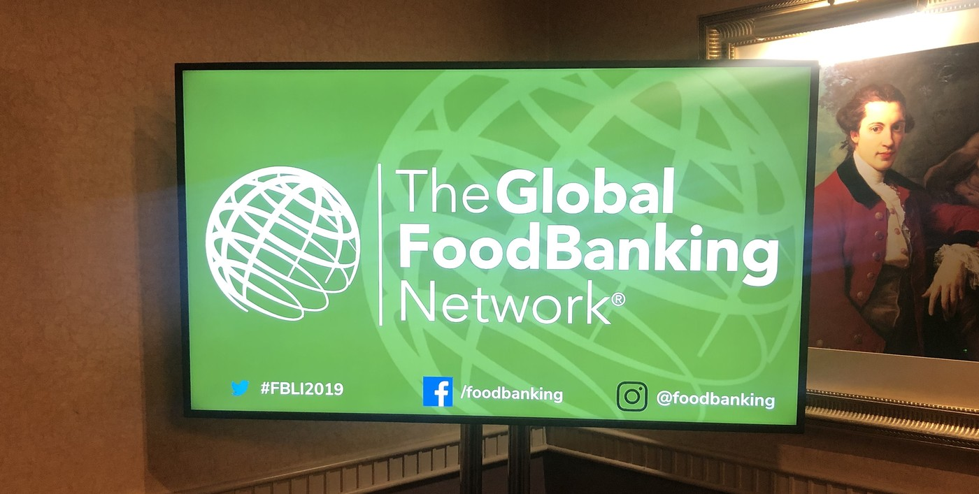Global FoodBanking Network Event and ScreenCloud