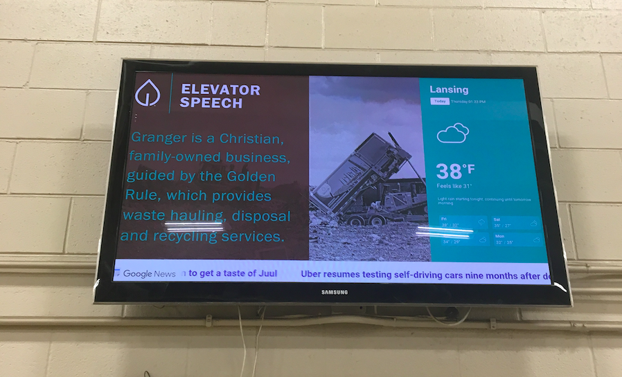 Granger elevator pitch