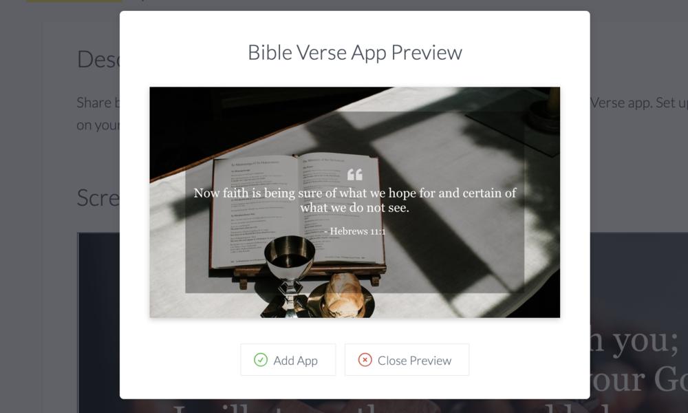 ScreenCloud Bible Verse App Guide - ScreenCloud