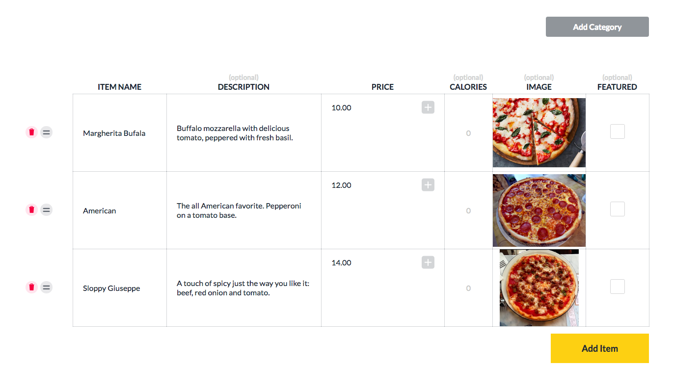 How to Create Menus for your Restaurant's TV Screen - ScreenCloud