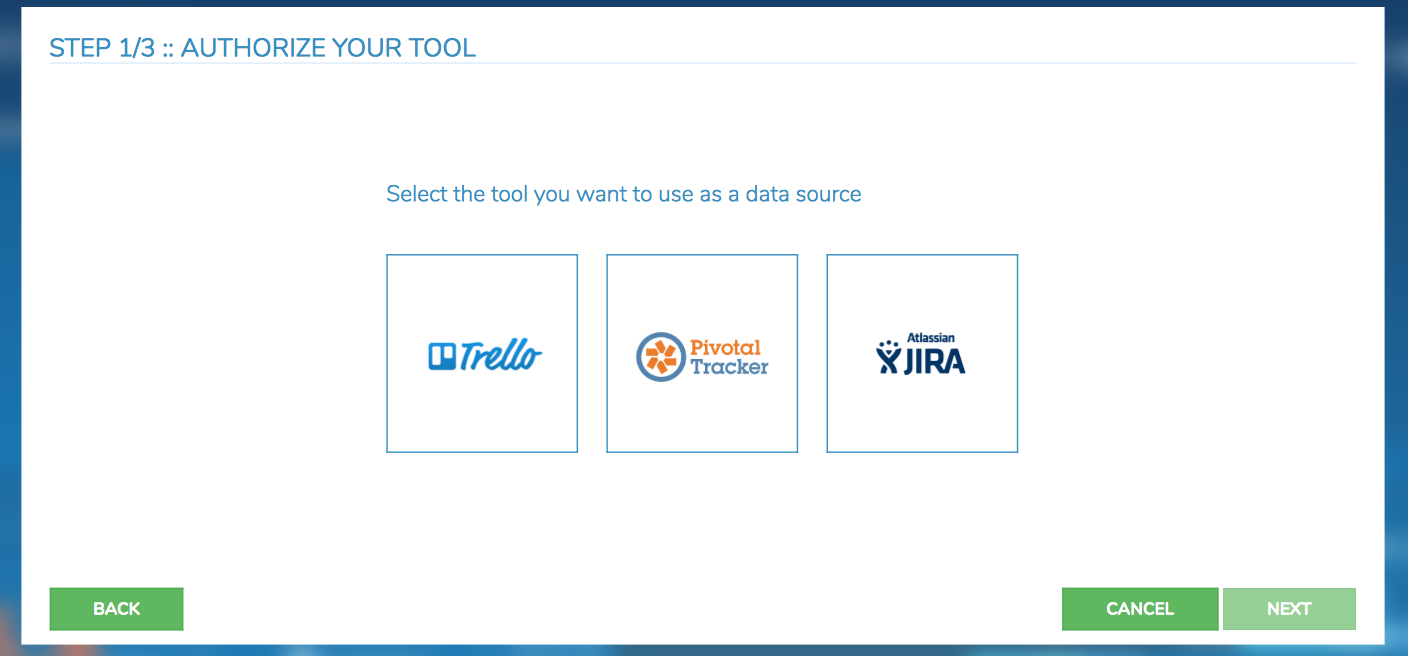 Screenful data point integrations
