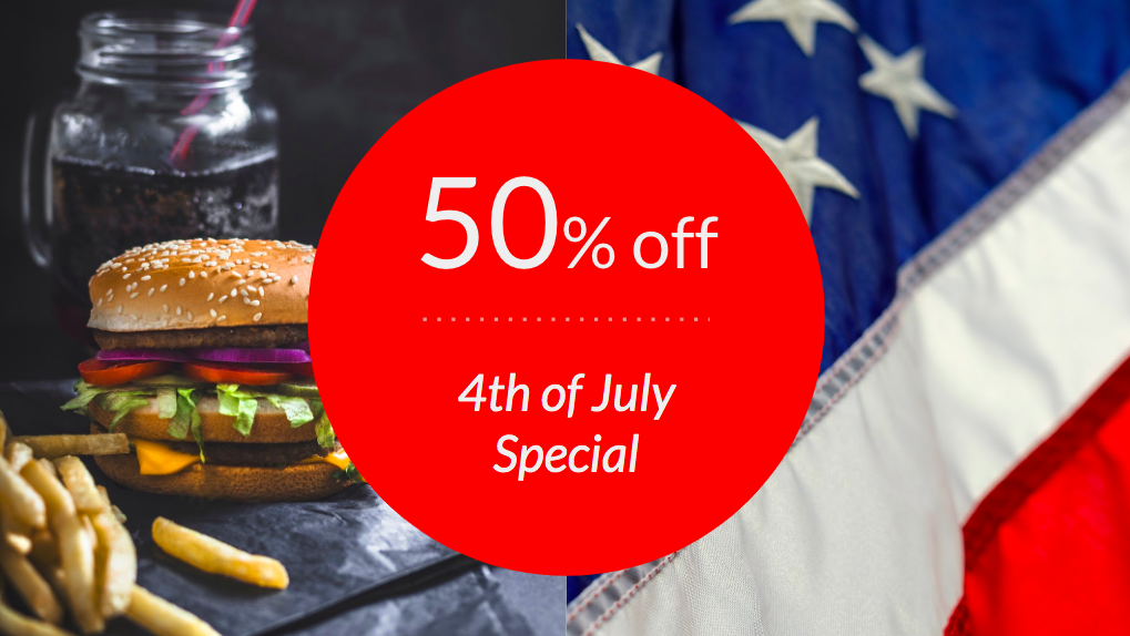 Independence day digital signage templates
