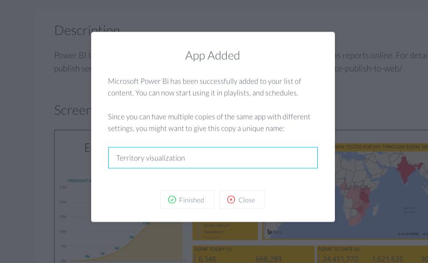 ScreenCloud Microsoft Power Bi App Guide - ScreenCloud